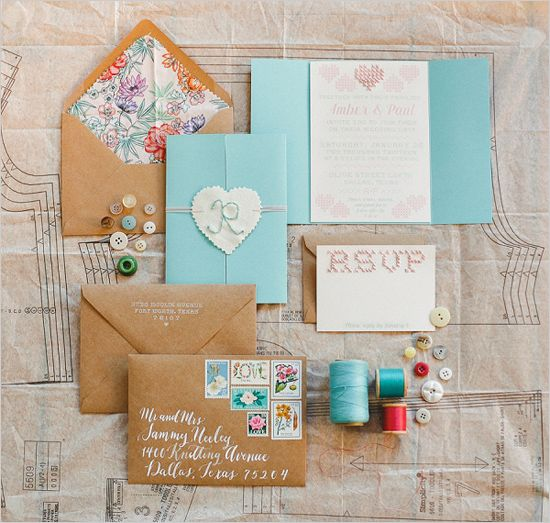 Wedding Philippines - 16 Enchanting Embroidered Wedding Invitations (7)