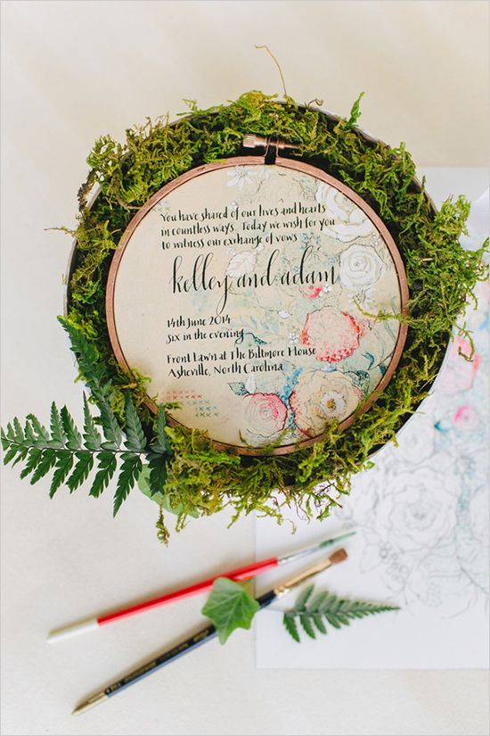 Wedding Philippines - 16 Enchanting Embroidered Wedding Invitations (9)