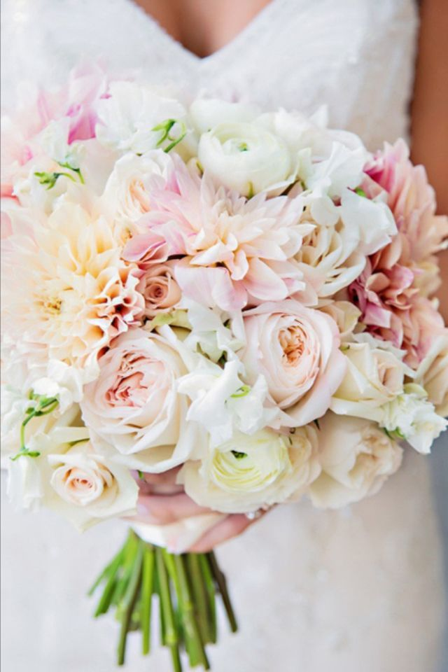 Wedding Philippines - 30 Stunning Mixed Pastel Wedding Bride Bouquet Flower Ideas (13)