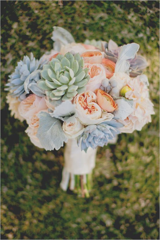 Wedding Philippines - 30 Stunning Mixed Pastel Wedding Bride Bouquet Flower Ideas (17)