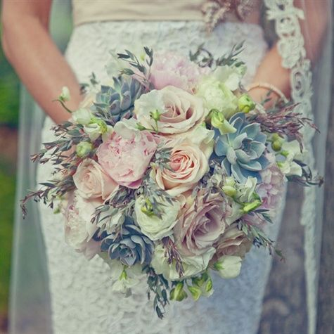 Wedding Philippines - 30 Stunning Mixed Pastel Wedding Bride Bouquet Flower Ideas (23)