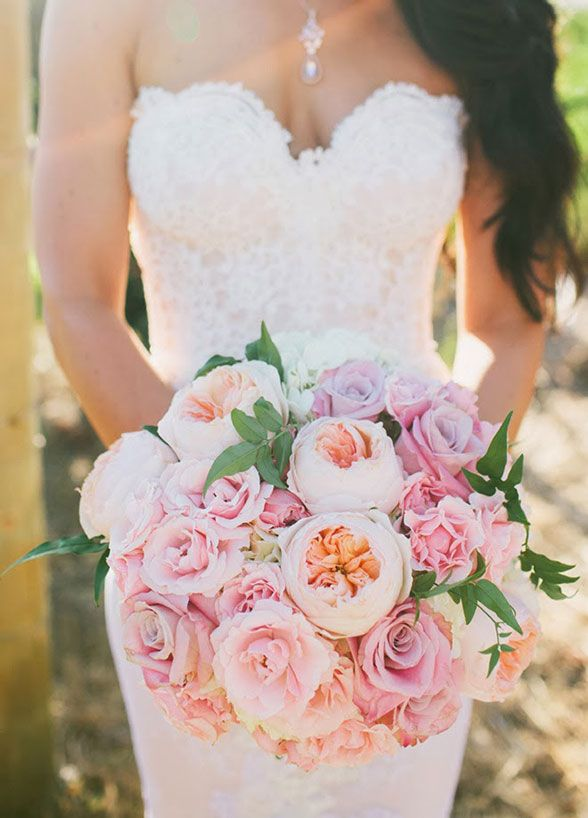 Wedding Philippines - 30 Stunning Mixed Pastel Wedding Bride Bouquet Flower Ideas (26)