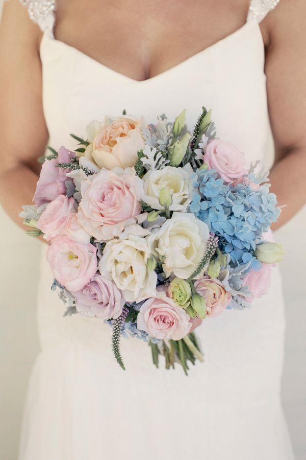 Wedding Philippines - 30 Stunning Mixed Pastel Wedding Bride Bouquet Flower Ideas (29)