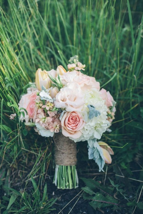 Wedding Philippines - 30 Stunning Mixed Pastel Wedding Bride Bouquet Flower Ideas (3)
