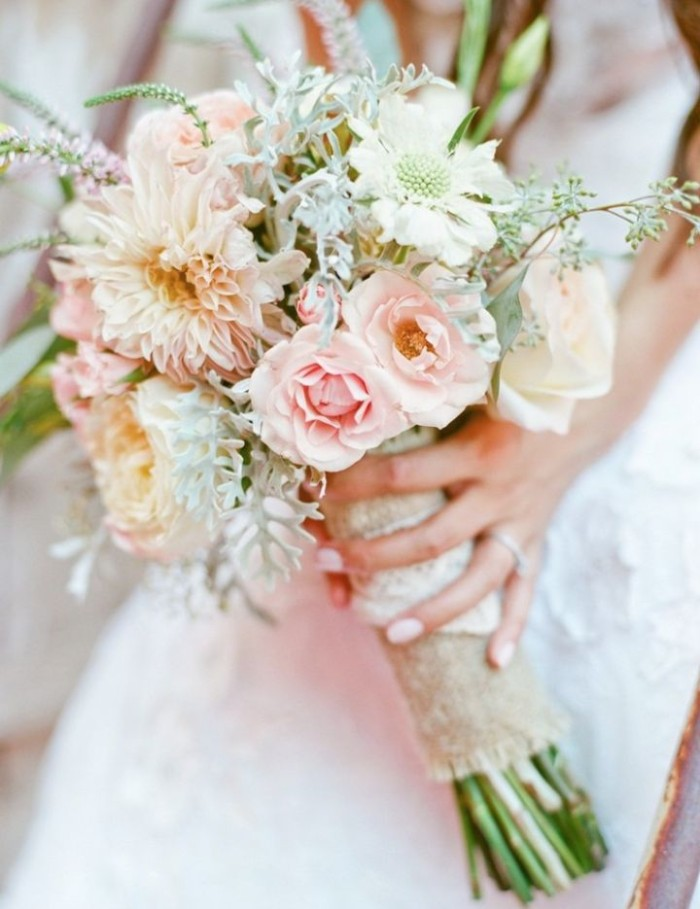 Wedding Philippines - 30 Stunning Mixed Pastel Wedding Bride Bouquet Flower Ideas (8)