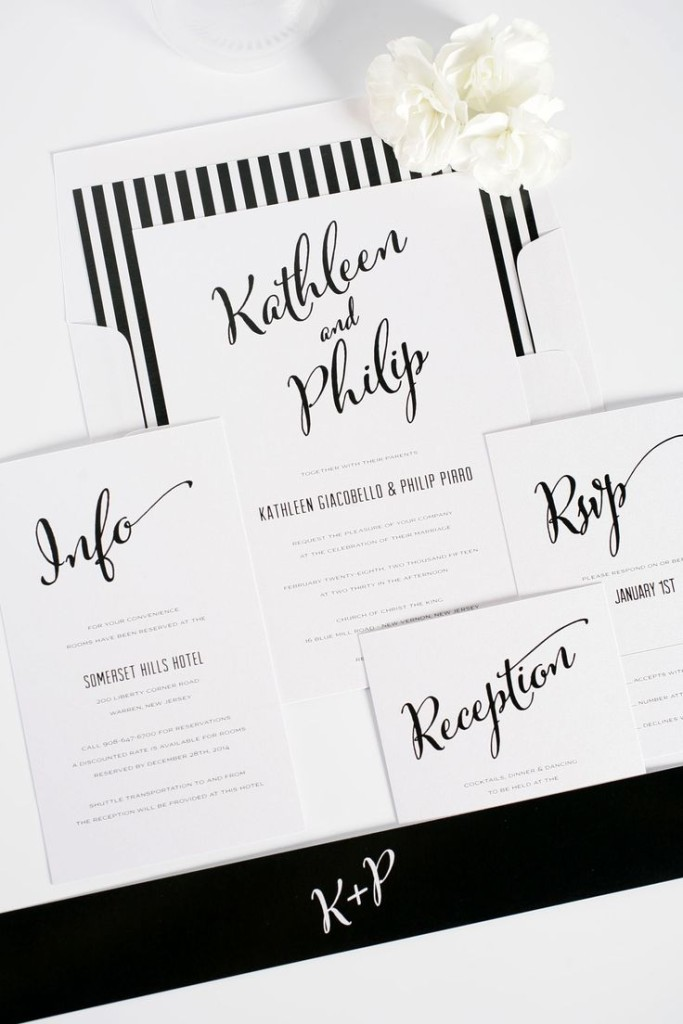 Wedding Philippines - 47 Black and White Wedding Ideas (5)