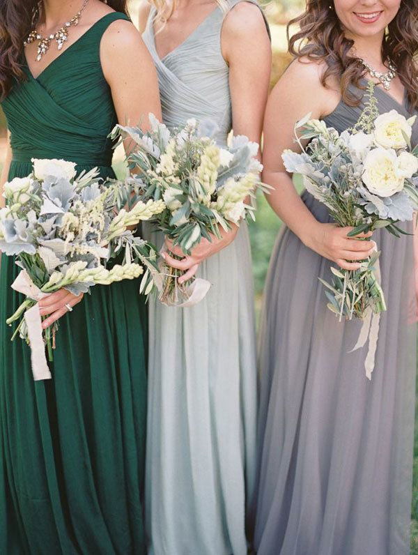 Wedding Philippines - Top 6 Ways to Wear Bridesmaid Dresses - Different  Colors, Same Styles (4)