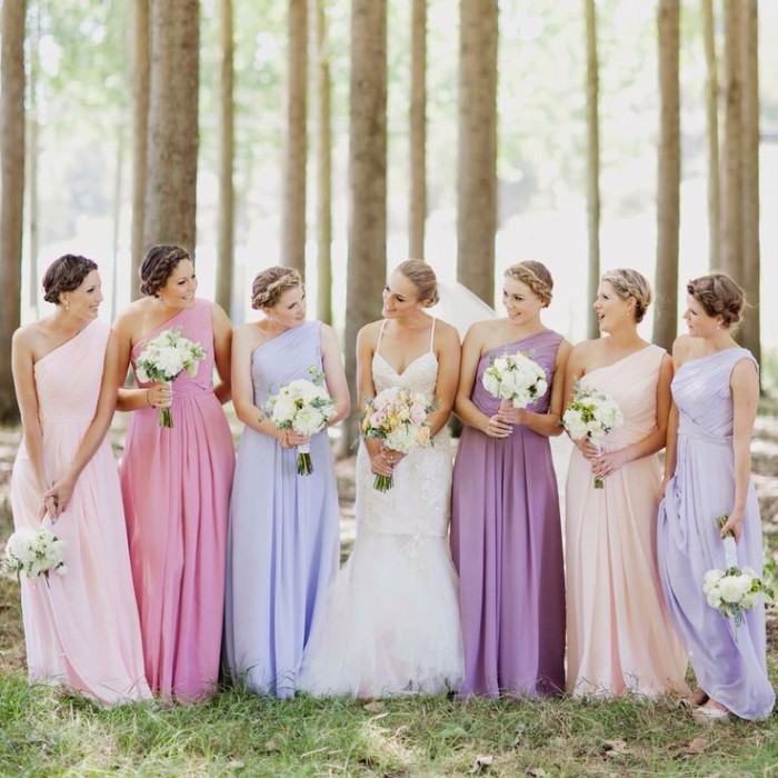 6 Ways To Do Mismatched Bridesmaid Dresses