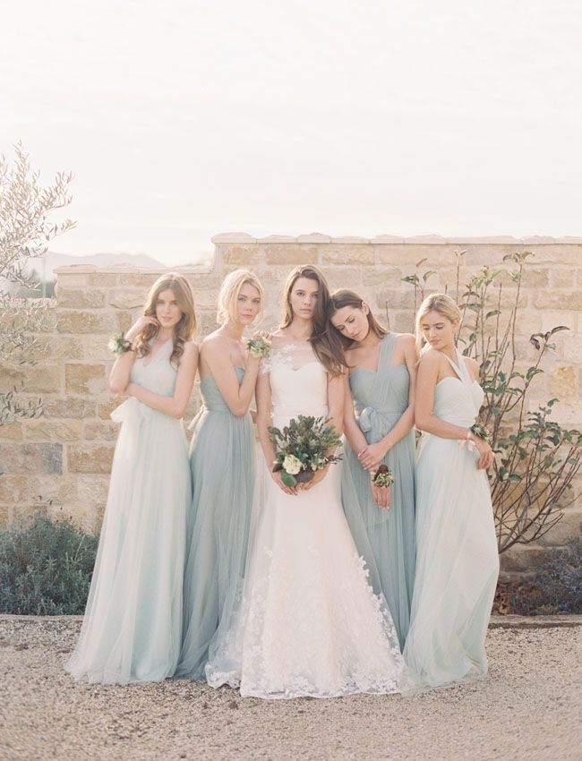 Wedding Philippines - Top 6 Ways to Wear Bridesmaid Dresses - Same Co lor, Different Shades, Different Styles (1)