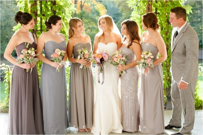 Wedding Philippines - Top 6 Ways to Wear Bridesmaid Dresses - Same Co lor, Different Shades, Different Styles (10)