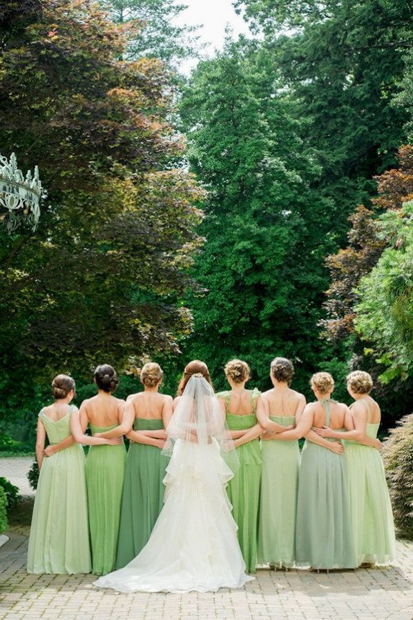 Wedding Philippines - Top 6 Ways to Wear Bridesmaid Dresses - Same Co lor, Different Shades, Different Styles (12)