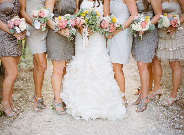 Wedding Philippines - Top 6 Ways to Wear Bridesmaid Dresses - Same Co lor, Different Shades, Different Styles (3)