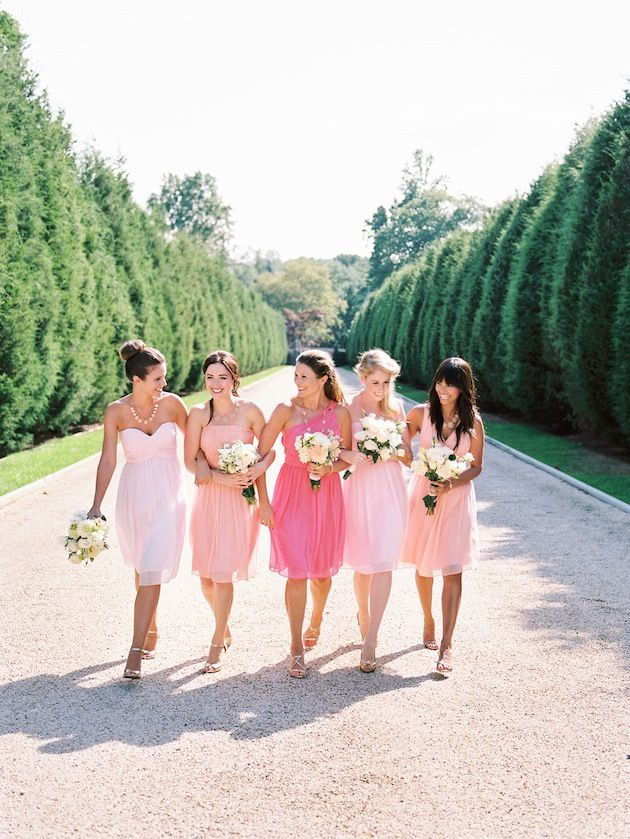 Wedding Philippines - Top 6 Ways to Wear Bridesmaid Dresses - Same Co lor, Different Shades, Different Styles (4)
