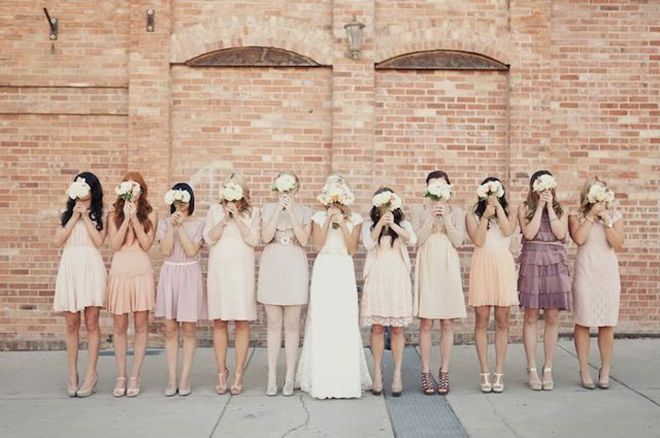 Wedding Philippines - Top 6 Ways to Wear Bridesmaid Dresses - Same Co lor, Different Shades, Different Styles (5)