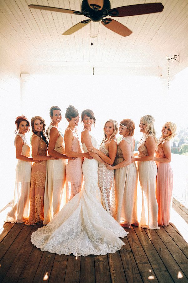 Wedding Philippines - Top 6 Ways to Wear Bridesmaid Dresses - Same Co lor, Different Shades, Different Styles (8)