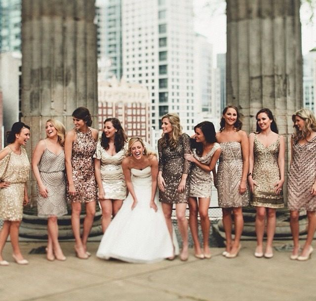 Wedding Philippines - Top 6 Ways to Wear Bridesmaid Dresses - Same Co lor, Different Shades, Different Styles (9)