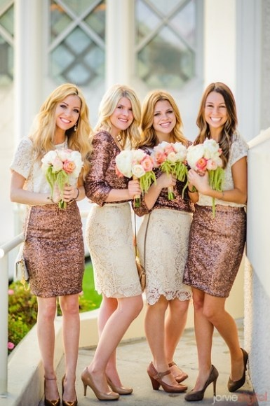 Wedding Philippines - Top 6 Ways to Wear Mismatched Bridesmaid Dresses - Mixing Tops Skirts (4)