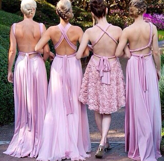 Wedding Philippines - Top 6 Ways to Wear Mismatched Bridesmaid Dresses - Same Colors, Different Styles (1)