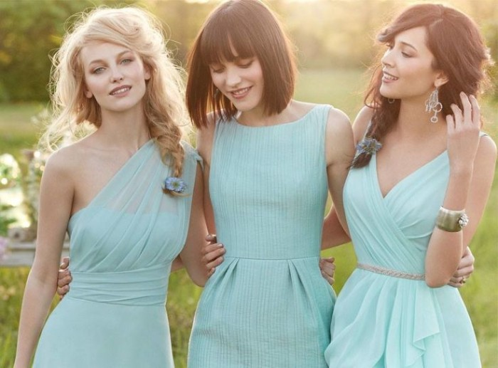 Wedding Philippines - Top 6 Ways to Wear Mismatched Bridesmaid Dresses - Same Colors, Different Styles (10)