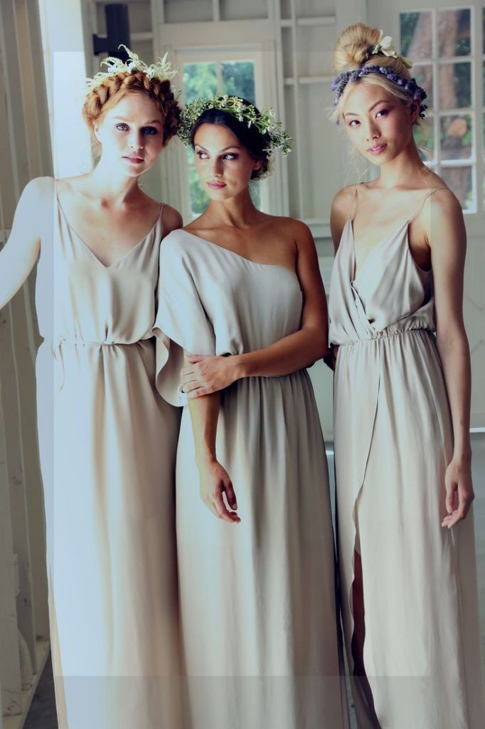 Wedding Philippines - Top 6 Ways to Wear Mismatched Bridesmaid Dresses - Same Colors, Different Styles (11)