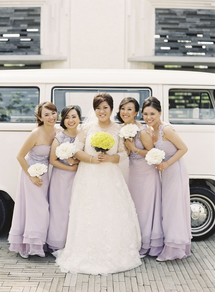 Wedding Philippines - Top 6 Ways to Wear Mismatched Bridesmaid Dresses - Same Colors, Different Styles (13)