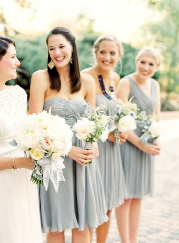 Wedding Philippines - Top 6 Ways to Wear Mismatched Bridesmaid Dresses - Same Colors, Different Styles (5)