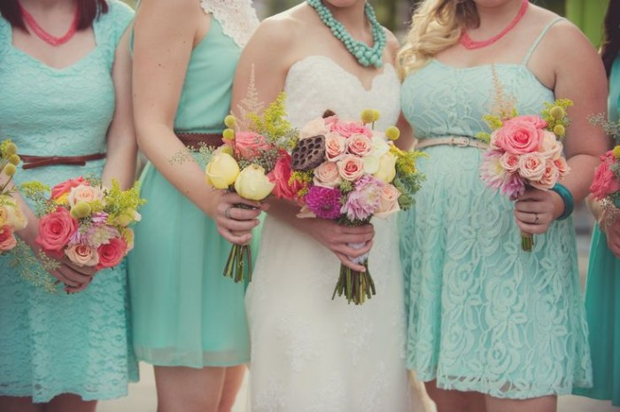 Wedding Philippines - Top 6 Ways to Wear Mismatched Bridesmaid Dresses - Same Colors, Different Styles (6)