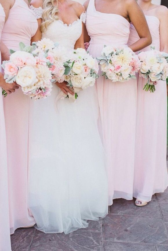 Wedding Philippines - Top 6 Ways to Wear Mismatched Bridesmaid Dresses - Same Colors, Different Styles (7)