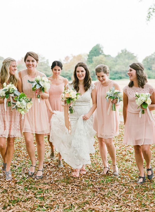 Wedding Philippines - Top 6 Ways to Wear Mismatched Bridesmaid Dresses - Same Colors, Different Styles (9)