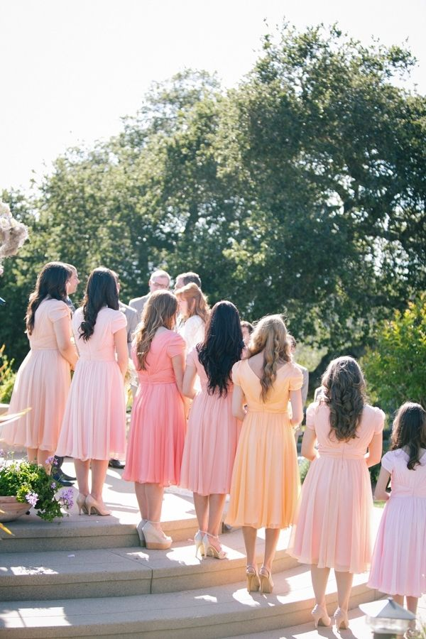 Wedding Philippines - Top 6 Ways to Wear Mismatched Bridesmaids - Different Colors, Different Styles (3)