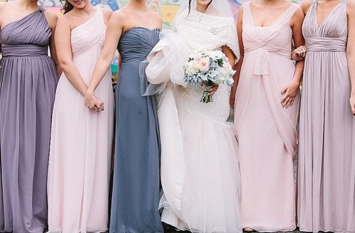 Wedding Philippines - Top 6 Ways to Wear Mismatched Bridesmaids - Different Colors, Different Styles (6)