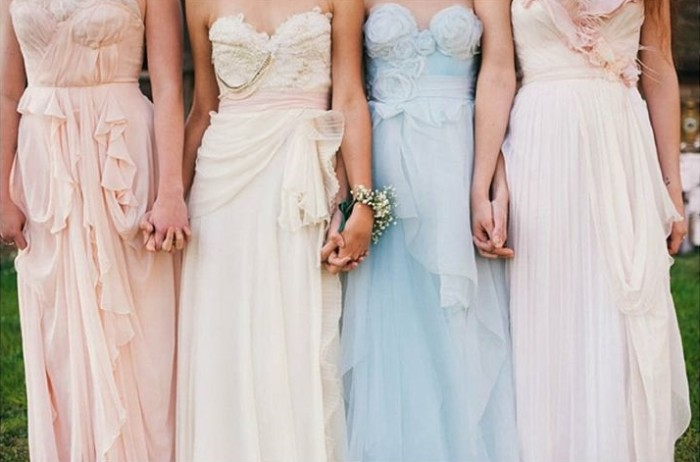 Wedding Philippines - Top 6 Ways to Wear Mismatched Bridesmaids - Different Colors, Different Styles (7)