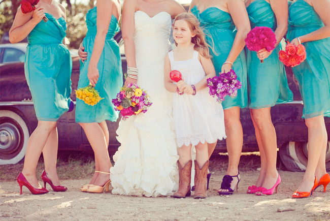 Wedding Philippines - Top 6 Ways to do Mismatched Bridesmaid Dresses (1)