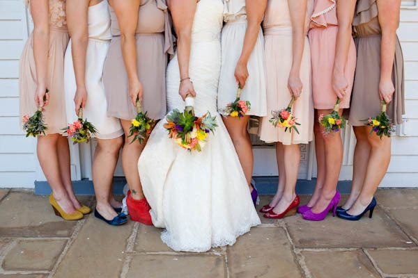 Wedding Philippines - Top 6 Ways to do Mismatched Bridesmaid Dresses (2)