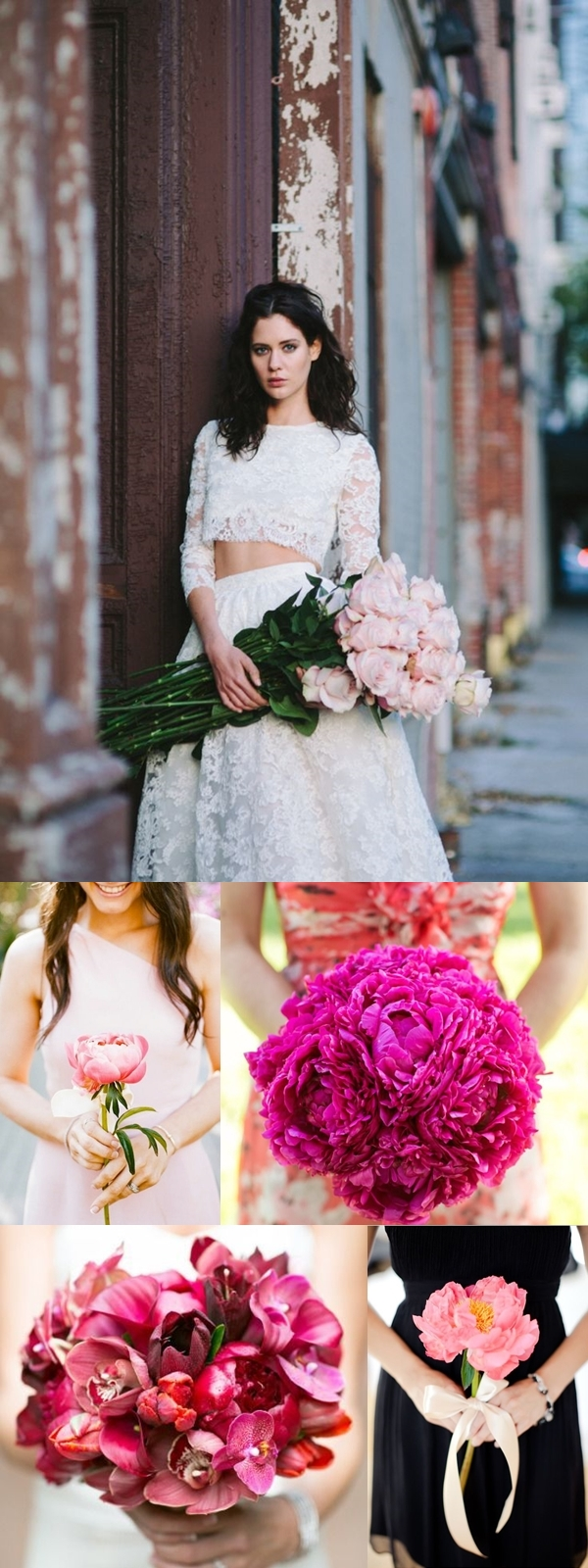 Wedding Philippines - Pink Single Bloom Flower Bouquet Ideas