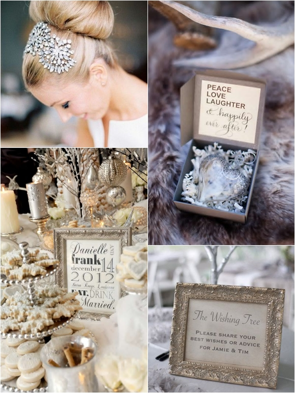 Wedding Philippines - Silver Winter Wedding Ideas Inspiration 02
