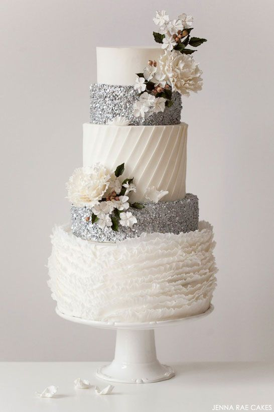 Wedding Philippines - Silver Winter Wedding Ideas Inspiration 04