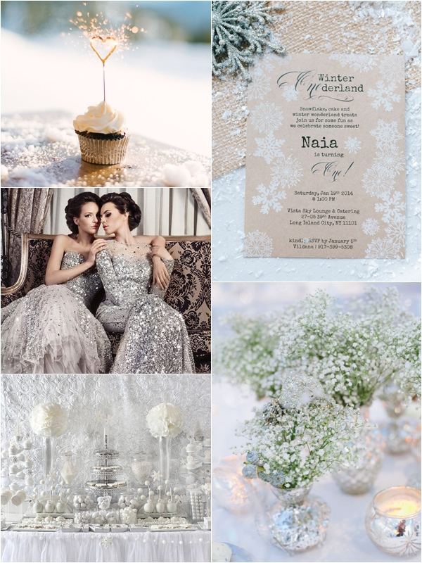 Wedding Philippines - Silver Winter Wedding Ideas Inspiration 07