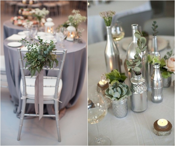 Wedding Philippines - Silver Winter Wedding Ideas Inspiration 08