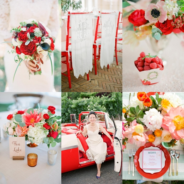 Wedding Philippines - Weddings by Color - Fiesta Red Color Motif 02