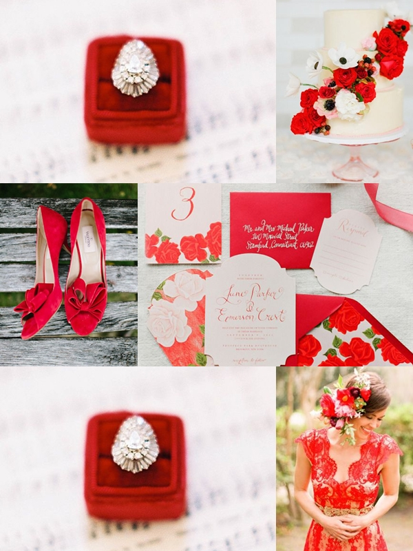 Wedding Philippines - Weddings by Color - Fiesta Red Color Motif
