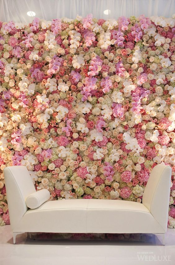Wedding Philippines - 18 Stunning Floral Photo Backdrops Background Ideas (10)