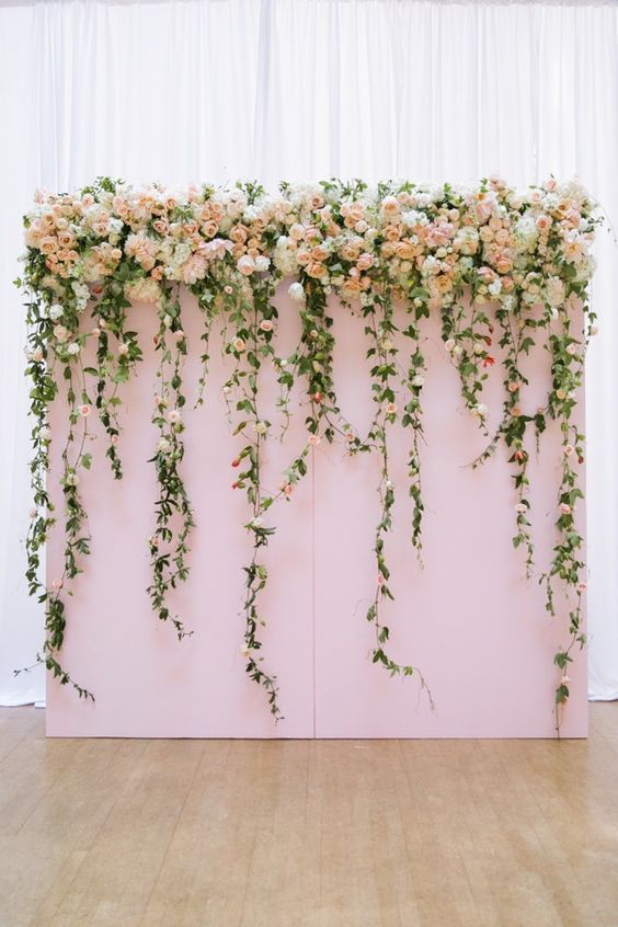 Wedding Philippines - 18 Stunning Floral Photo Backdrops Background Ideas (13)