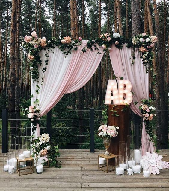 Wedding Philippines - 18 Stunning Floral Photo Backdrops Background Ideas (14)