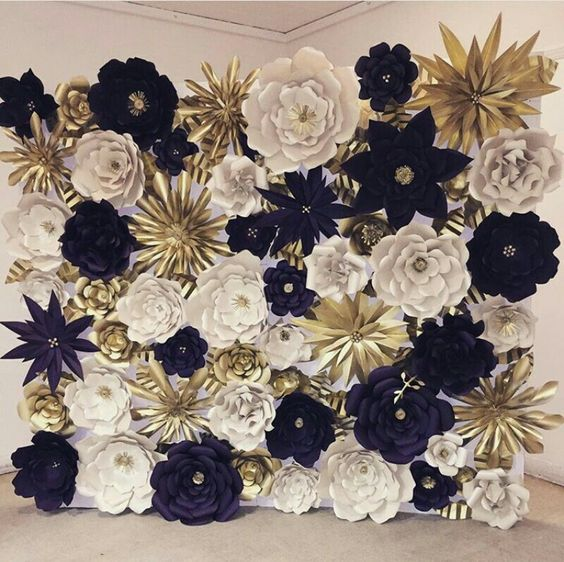 Wedding Philippines - 18 Stunning Floral Photo Backdrops Background Ideas (15)