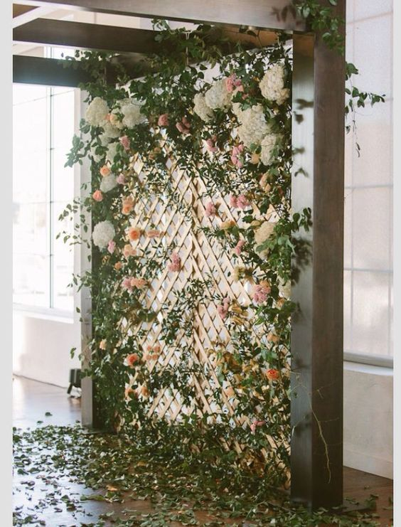 Wedding Philippines - 18 Stunning Floral Photo Backdrops Background Ideas (4)
