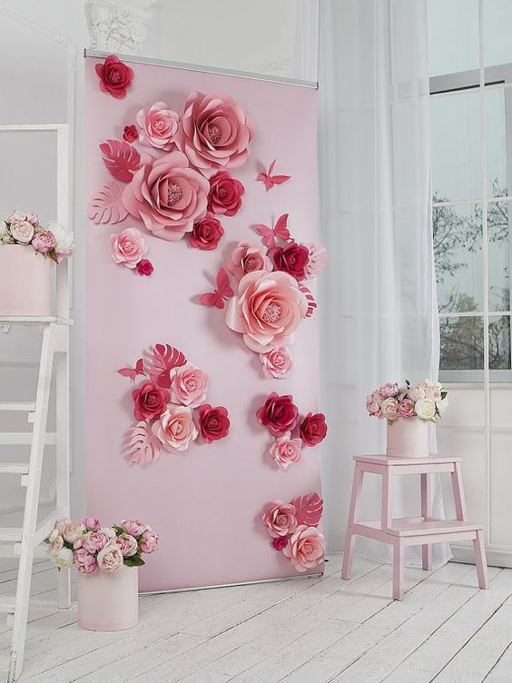 Wedding Philippines - 18 Stunning Floral Photo Backdrops Background Ideas (6)
