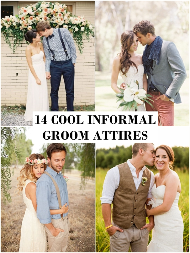 Wedding Philippines - 14 Cool Casual Informal Groom Style Attire Ideas
