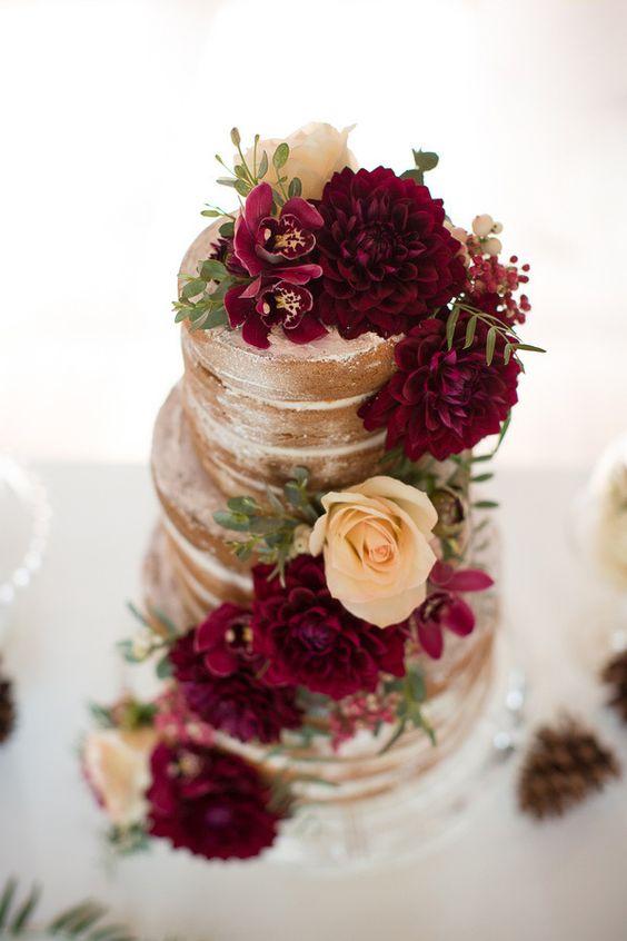 Wedding Philippines - 37 Delicious Semi Naked Wedding Cakes (7)