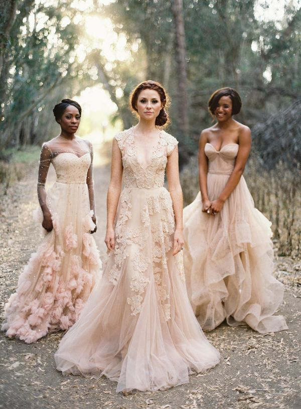 15 Sweet Blush Pink Wedding Dresses Wedding Philippines